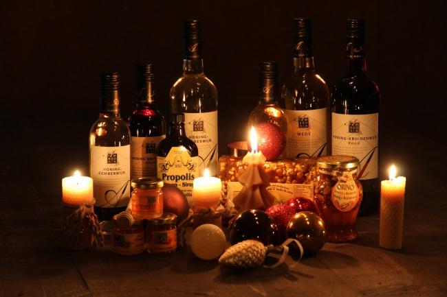 imkerij producten kerstpakket