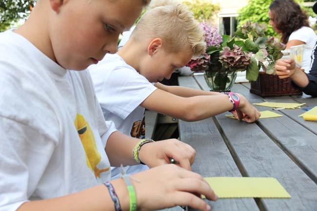 Kinderfeestje: Kaarsen maken